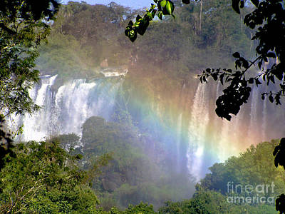 Photograph - Rainbows Of Iguassu by Alexandra Jordankova