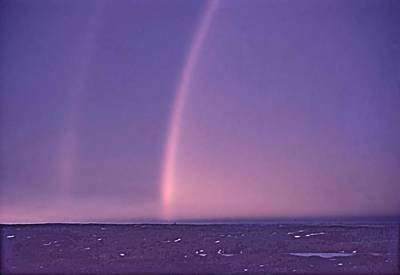 Photograph - Rainbows Over Hudson Strait 1953 by George Cousins