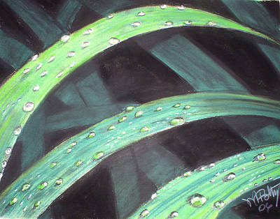 Painting - Raindrops by Michael Foltz
