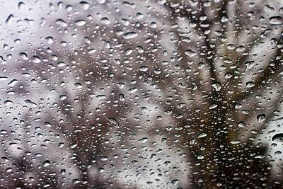 Photograph - Raindrops by Richie Stewart