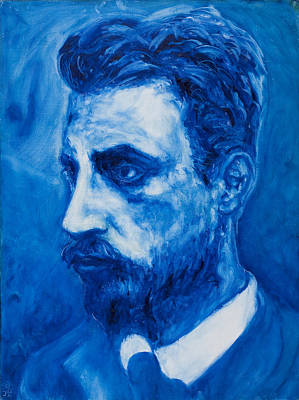 Rainer Maria Rilke Art Print by Sviatoslav Alexakhin