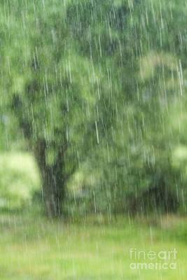 Summer Squall Photograph - Rainfall by Dan Radi