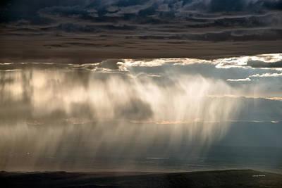 Photograph - Rainfall by Leland D Howard