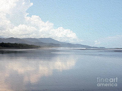Rainforest And Ocean In Costa Rica Art Print by Patricia Hofmeester