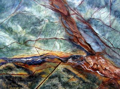 Painting - Rainforest I by Roberta Rotunda