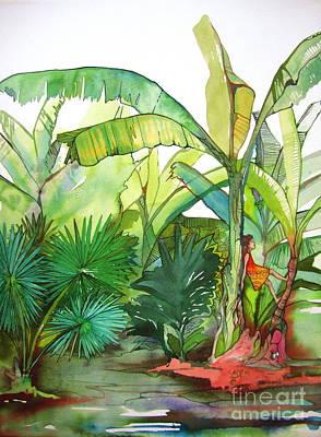 Rainforest Art Print by Maya Simonson