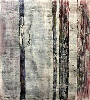 Larry David Painting - Rainforest Year 2050 by Antonio Ortiz