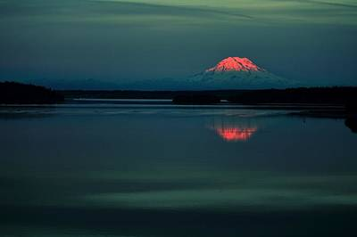 Photograph - Rainier Dreaming by Benjamin Yeager