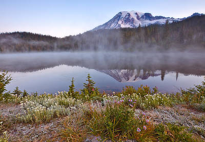 Royalty-Free and Rights-Managed Images - Rainier Morning by Darren White