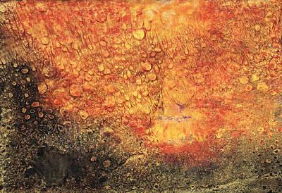 Painting - Raining Fire by Gillian Pearce