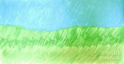 Print Like Painting - Raining In The Plains by Marsha Heiken