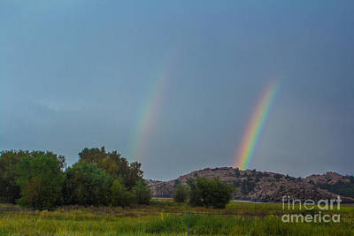 Anchor Down Royalty Free Images - Raining Rainbows Royalty-Free Image by Phyllis Bradd