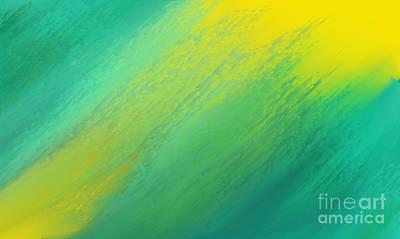 Environment Design Digital Art - Raining Sunshine - Meteorologist - Meteorology by Andee Design