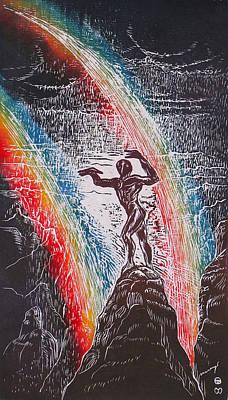 Rainmaker Art Print by Maria Arango Diener