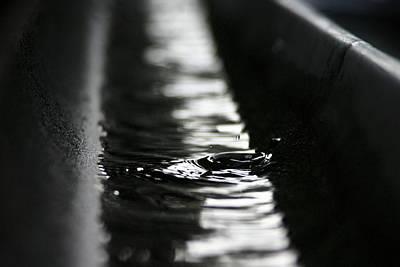 Photograph - Rainwater by Kb White