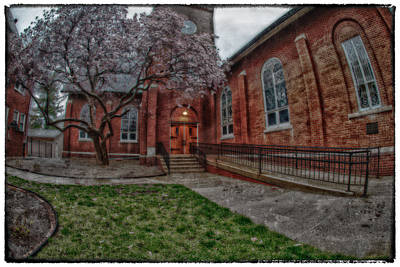 Photograph - Rainy Church by Kimberleigh Ladd