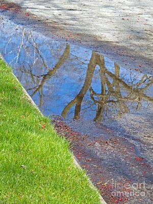 Rainy Day Aftermath Print by Ann Horn