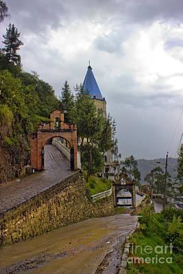 Rainy Day Photograph - Rainy Day In Biblian Ecuador by Al Bourassa