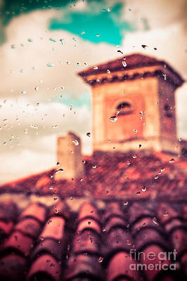 Photograph - Rainy Day In Italy by Silvia Ganora