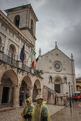 Photograph - Rainy Day In Norcia - June 1 by Dwight Theall