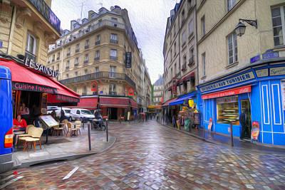 Photograph - Rainy Day In Paris by Dustin  LeFevre