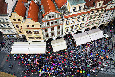 Photograph - Rainy Day In Prague-1 by Diane Macdonald