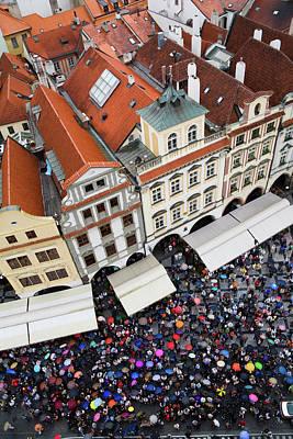 Photograph - Rainy Day In Prague-2 by Diane Macdonald