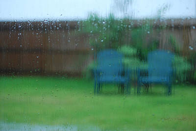 Photograph - Rainy Day In Richmond by Paulette B Wright