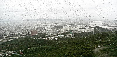 Photograph - Rainy Day In Seoul by Kume Bryant
