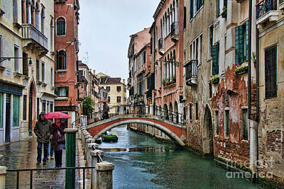 Photograph - Rainy Day In Venice by Crystal Nederman