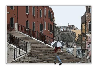 Photograph - Rainy Day In Venice by Mariarosa Rockefeller