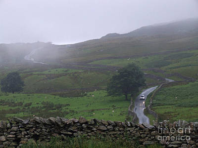 Photograph - Rainy Day - Lake District - England by Phil Banks