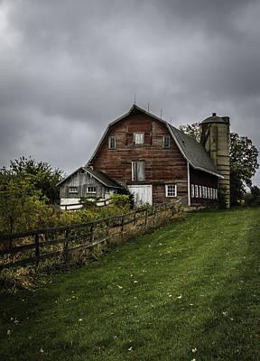 Photograph - Rainy Day On The Farm by Kathleen Scanlan