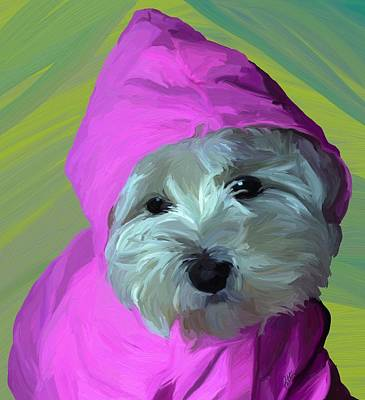 Raincoats Painting - Rainy Day by Patti Siehien