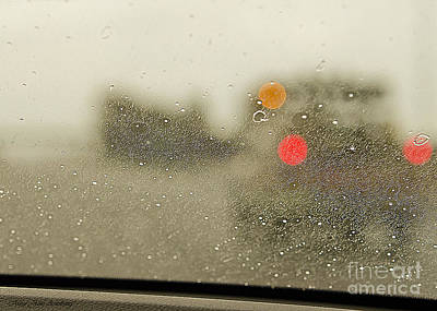 Rainy Day Perspective Art Print by MaryJane Armstrong