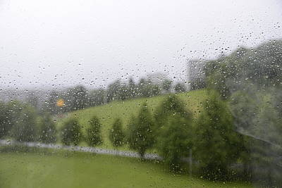 Photograph - Rainy Day Romance 1 by Teo SITCHET-KANDA