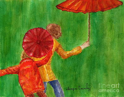 Painting - Rainy Days by Tamyra Crossley