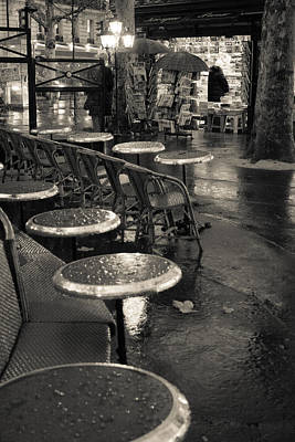 Photograph - Rainy Night In Paris by Matthew Pace