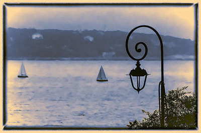 Photograph - Rainy Sail by Maria Coulson