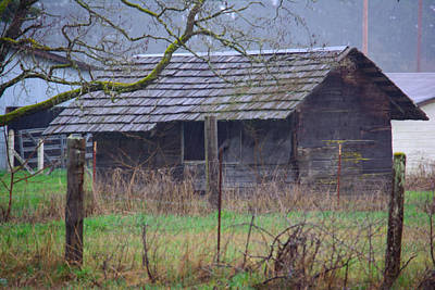 Photograph - Rainy Shack by Tikvah's Hope