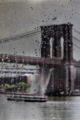 World War 2 Action Photography - Rainy view by Jo Ann Snover