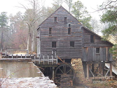 Photograph - Rainy Yates Mill by Kevin Croitz