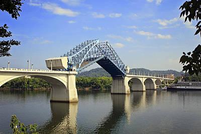Raising Of The Bridge Art Print by Gregory Cook