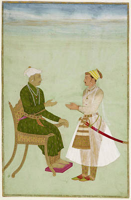 Portaits Photograph - Raja Jai Singh Of Amber by British Library
