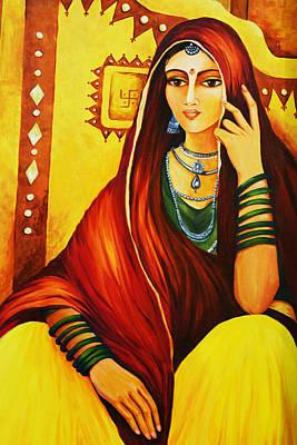 Young Girl Wall Art - Photograph - Rajasthani Women by Sanjay Ghorpade