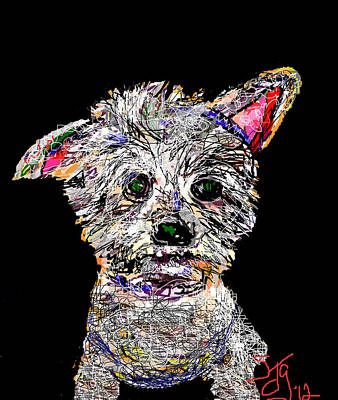 Digital Art - Ralph by Joyce Goldin