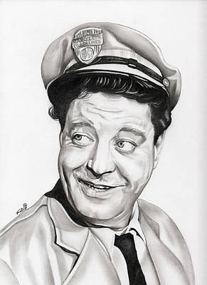 Jackie Gleason Drawing - Ralph Kramden by Fred Larucci