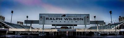 Buffalo Ny Photograph - Ralph Wilson Stadium by Ken Marsh
