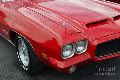 Photograph - Ram Air Gto by Mark Spearman