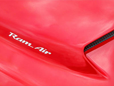 Photograph - Ram Air - Pontiac Trans Am by Gill Billington